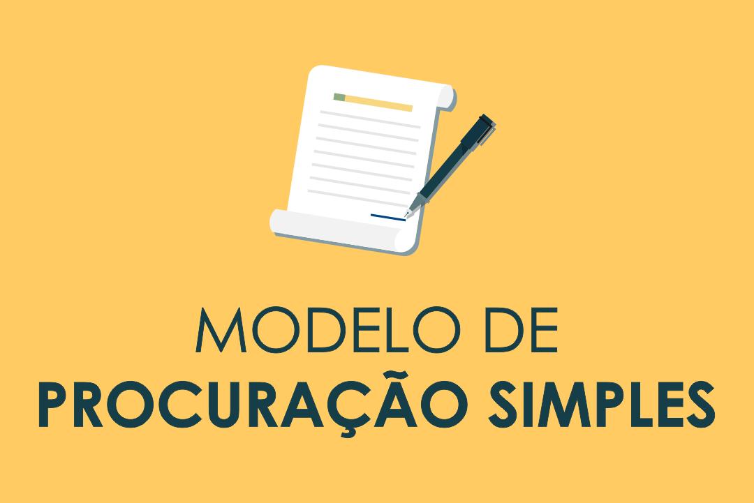 Modelo De Procuração Simples Cartório Online 24h